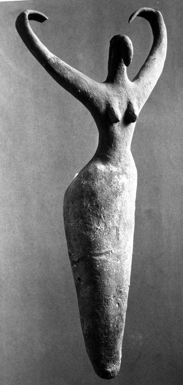 Little goddess from Ma'amara, Egypt, 3500-3400BC