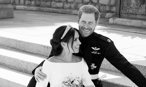 The official photo of the happy couple shot by their friend  Alexi Lubomirski