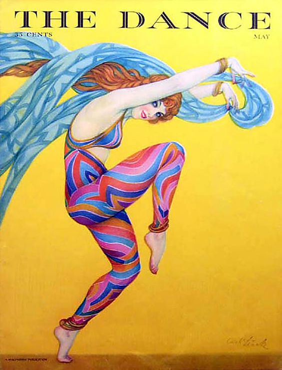 Cover: The Dance magazine 1920s